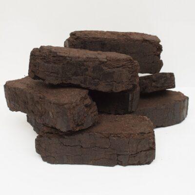 Купить торфобрикет по 10 кг в термопленке (цена за упаковку)   ICOAL - продажа твердого топлива